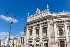 The Burg theater in Vienna, Austria Royalty Free Stock Photos
