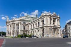 The Burg theater in Vienna, Austria Royalty Free Stock Photo