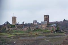 Burg Thurant sur la Moselle image libre de droits