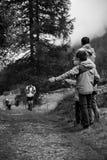 Burgada för jornet för slingalöpare kilian fotografering för bildbyråer