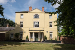Burgagemanor, boyhood huis van Byron royalty-vrije stock afbeeldingen