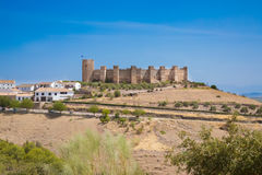 Burgalimar Castle στο Λα Encina Banos de στοκ εικόνες με δικαίωμα ελεύθερης χρήσης