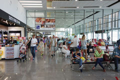 The Burgas airport Stock Images