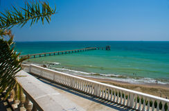 Burgas city view Royalty Free Stock Images