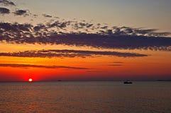 Burgas coastal Stock Photography