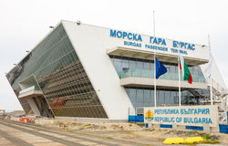 Burgas Marine Station in Bulgaria Royalty Free Stock Photo