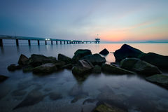 Burgas Sunrise Royalty Free Stock Photos