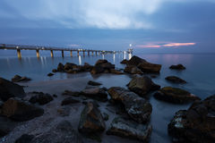 Burgas Before Sunrise Stock Image