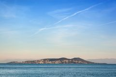 Burgaz Ada-Insel Lizenzfreie Stockbilder