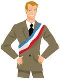 Burgemeester of politicus Royalty-vrije Stock Afbeelding