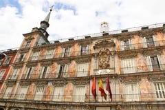 Burgemeester van het plein, Madrid Royalty-vrije Stock Fotografie