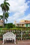 Burgemeester van het plein, Trinidad, Cuba Royalty-vrije Stock Afbeelding