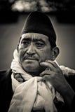 Burgemeester van Sindhupalchowk, Nepal Royalty-vrije Stock Afbeeldingen