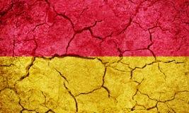 Burgenland, Austria flag Stock Image