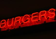 burger ένωση Στοκ Φωτογραφία