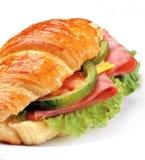 Burger ζαμπόν Στοκ Εικόνες