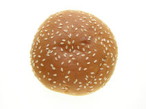 burger κουλουριών Στοκ εικόνες με δικαίωμα ελεύθερης χρήσης