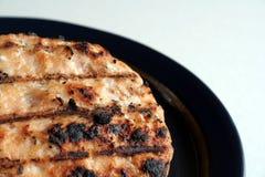 burger σολομός Στοκ Εικόνες