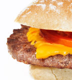 burger τυρί Στοκ εικόνα με δικαίωμα ελεύθερης χρήσης