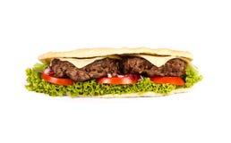 Burger υποβρύχιο Στοκ Φωτογραφίες