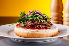 burger φως στοκ εικόνες με δικαίωμα ελεύθερης χρήσης