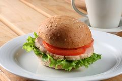 Burger 02 royalty free stock photography