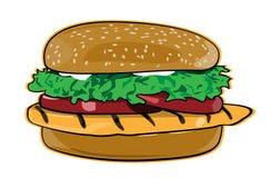 burger διανυσματική απεικόνιση