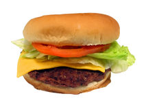 Burger 2. Burger Royalty Free Stock Photos