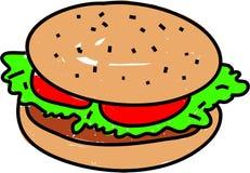 burger απεικόνιση αποθεμάτων