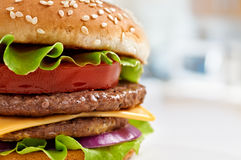 Burger Stock Photography