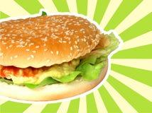 Burger Stockbild
