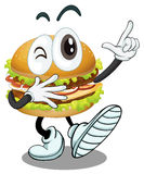 A burger Royalty Free Stock Image
