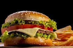 Burger Stock Photos