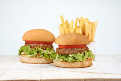 Burger stockbild