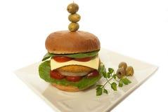 Burger Stockfoto