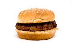 Burger. Barbecue on a back yard. Fresh home made burge Royalty Free Stock Photo