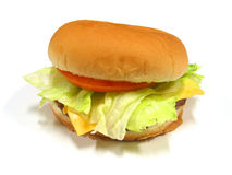 Burger 6. Burger Royalty Free Stock Image