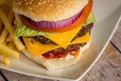 Burger 5 Στοκ εικόνα με δικαίωμα ελεύθερης χρήσης