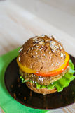 Burger lizenzfreie stockfotos