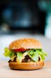 Burger_01 图库摄影