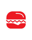 Burger abstract vector business insurance abstract Royalty Free Stock Photography