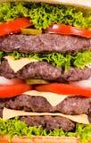 Burger background Stock Photos
