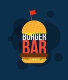 Burger bar Royalty Free Stock Photography