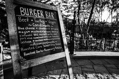 Burger Bar Royalty Free Stock Images