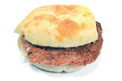 Burger with beef meat Royalty Free Stock Photo