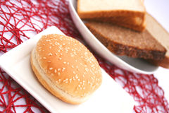 Burger Bread Royalty Free Stock Photography