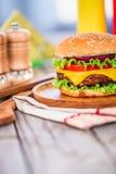 Burger cheeseburger Royalty Free Stock Photo