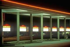 Burger drive up Stock Photo