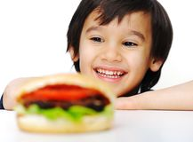 Burger, fast food Stock Images