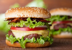 Burger Royalty Free Stock Photography